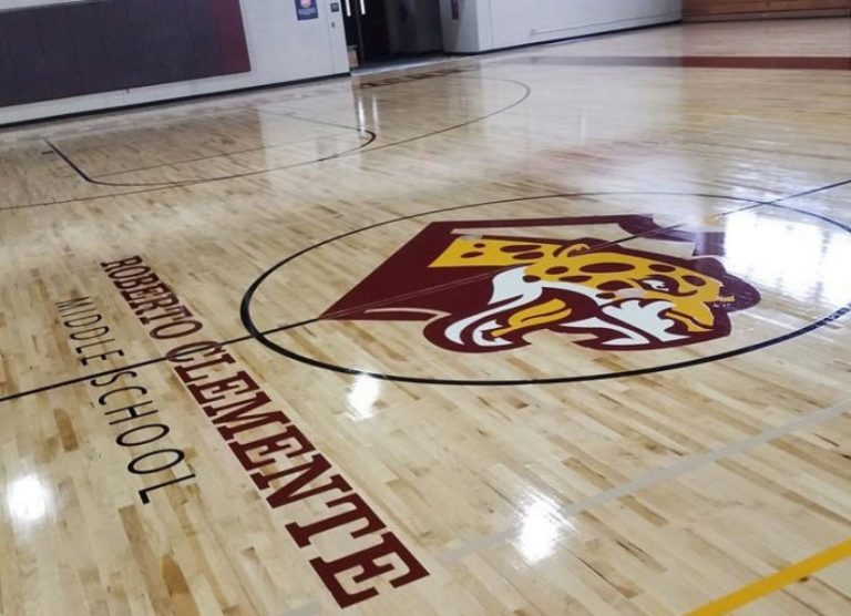 Roberto Clemente basketball court